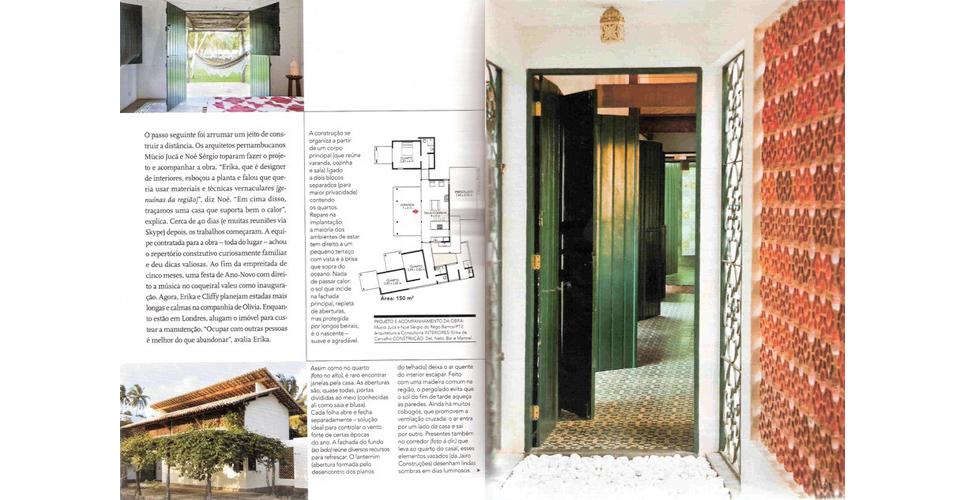 Revista Arquitetura e Construcao - Brasil.